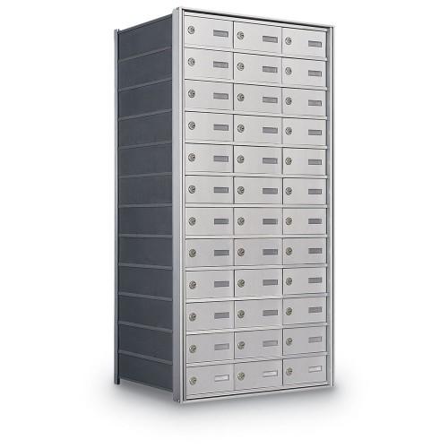 36 Door Private Use Rear Loading Horizontal Mailbox