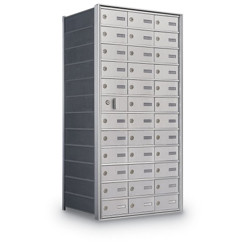35 Door Private Use Front Loading Horizontal Mailbox
