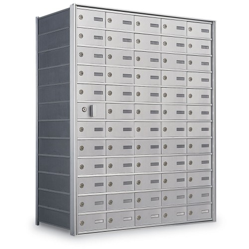 59 Door Private Use Front Loading Horizontal Mailbox