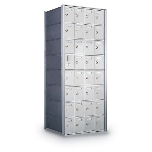 31 Door Private Use Front Loading Horizontal Mailbox