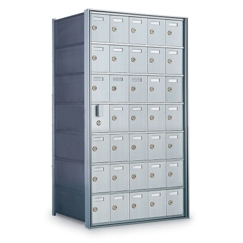 34 Door Private Use Front Loading Horizontal Mailbox