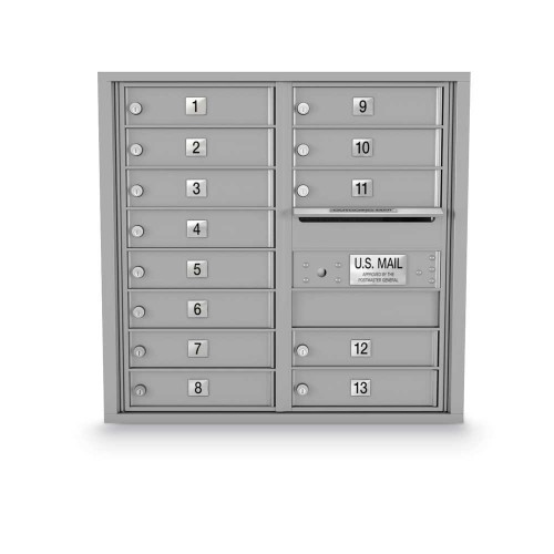 13 Door 4C Horizontal Mailbox
