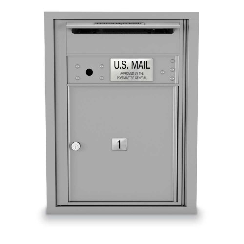1 Door Over-sized 4C Horizontal Mailbox