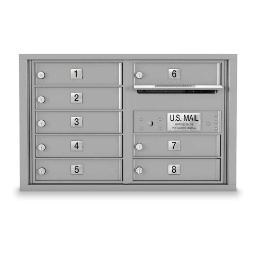8 Door 4C Horizontal Mailbox
