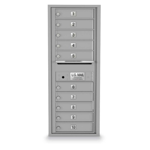10 Door 4C Horizontal Mailbox