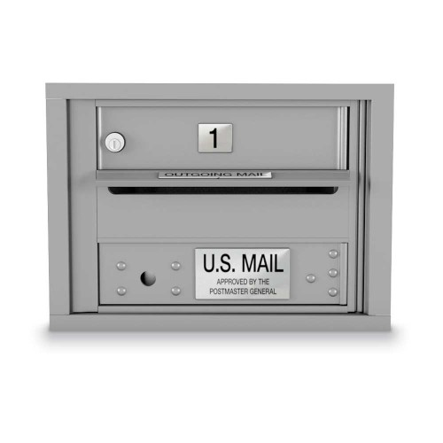 1 Door 4C Horizontal Mailbox
