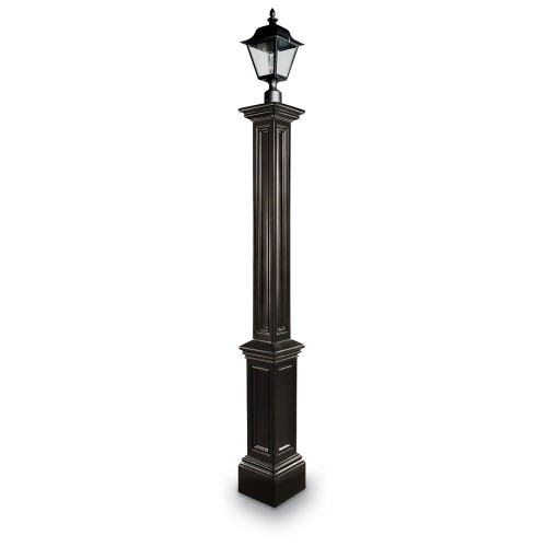 Signature Lamp Post Without Mount, Black or White