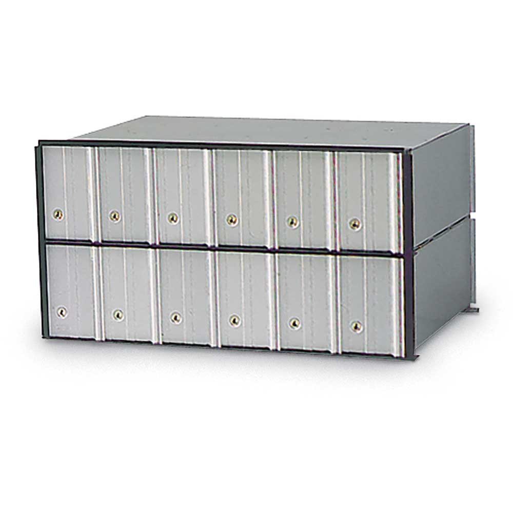 12 Door Rack Ladder PO Box Module