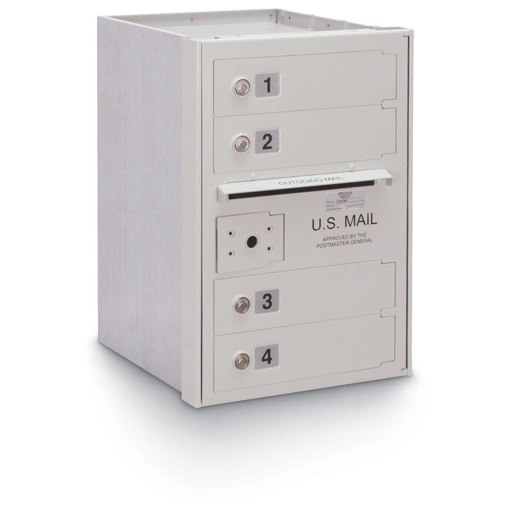 4 Door High Security 4C Horizontal Mailbox